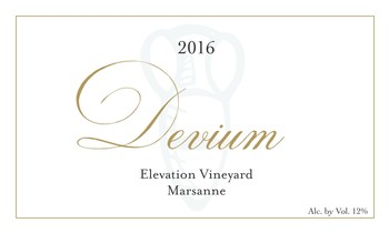 Devium Elevation Vineyard Marsanne 2016
