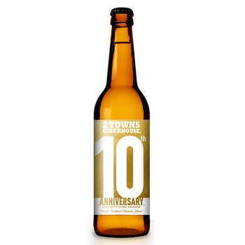 2 Towns 10th Anniversary 500mL Bottle