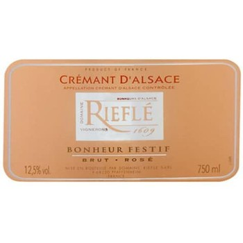 Domaine Riefle Cremant Brut Rose NV