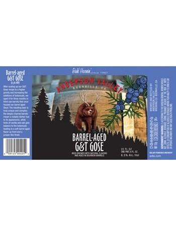 Anderson Valley Barrel-Aged G&T Gose