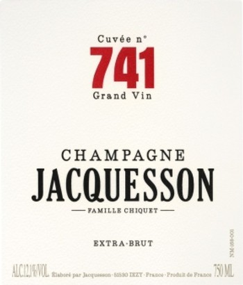 Jacquesson Cuvee 741 Extra Brut