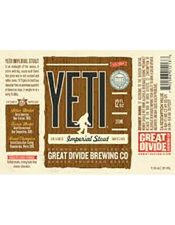 Great Divide Yeti Imperial Stout Image