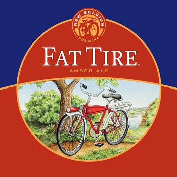 New Belgium Fat Tire 16oz Can