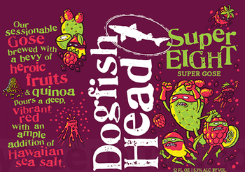 Dogfish Head SuperEIGHT Gose 12oz Can