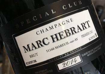 Marc Hebrart Special Club Millesime 2014