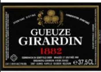 Girardin Gueze 1882 Black Lable 375mL Bottle