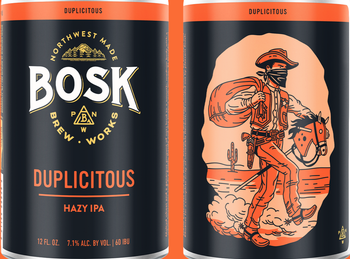 Bosk Duplicitous 12oz Can