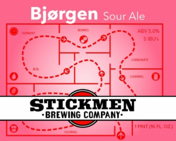 Stickmen Brewing Bjorgen 16oz Can