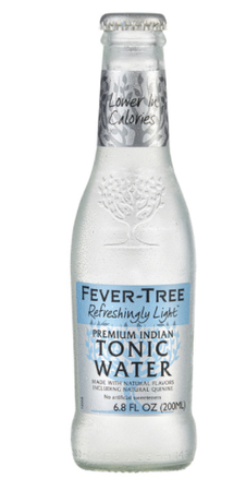 4-Pack Fever Tree Refreshingly Light Tonic Water
