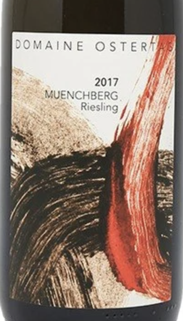 Domaine Ostertag Riesling Grand Cru Muenchberg 2017