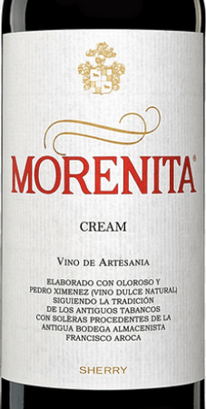 Emilio Hidalgo Morenita Cream Sherry 750mL