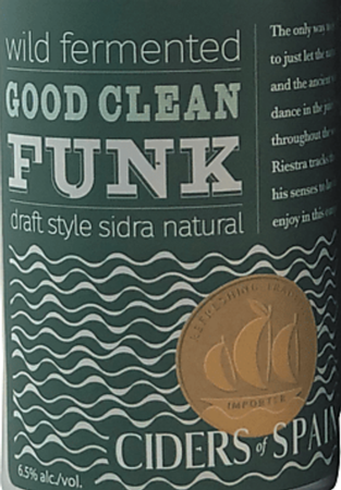 Ciders of Spain Good Clean Funk 12oz Can