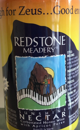 Redstone Meadery Sunshie Nectar 375mL Can