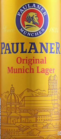 Paulaner Munich Lager 500mL Can