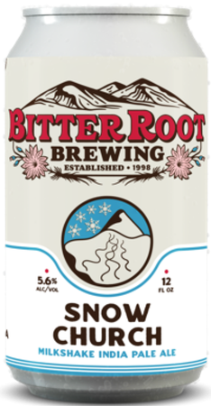 Bitter Root Snow Church 12oz Can