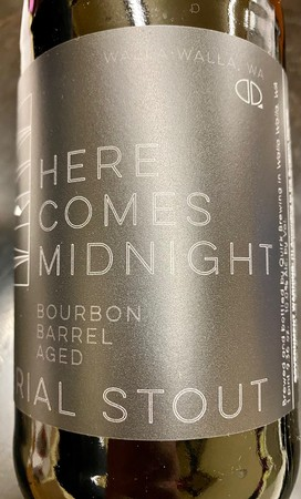 Quirk Here Comes Midnight BBA Imperial Stout 750mL Bottle
