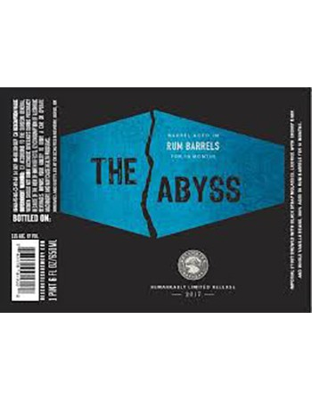 The Abyss Rum Barrel Aged