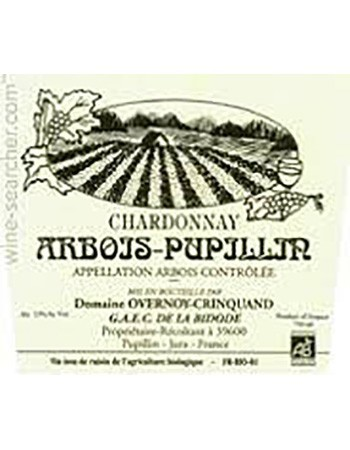 Domaine Overnoy-Crinquand Arbois-Pupillin Chardonnay VV 2010