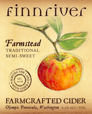 Finnriver Farmstead Cider 500mL