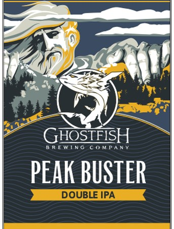 Ghostfish Peak Buster Double IPA 16oz Can