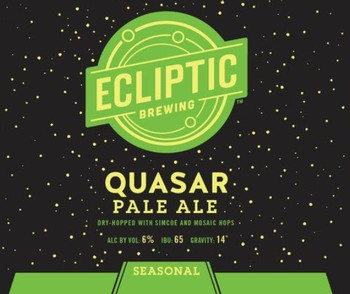 Ecliptic Quasar Pale Ale 12oz Can