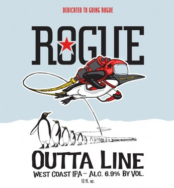 Rogue Outta Line IPA 12oz Can