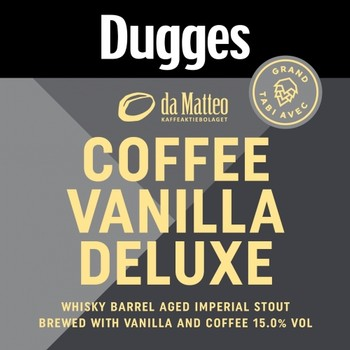 Dugges Coffee Vanilla Deluxe 330 mL Bottle