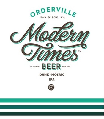 Modern Times Orderville IPA 16oz Can