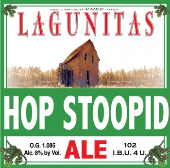 Lagunitas Hop Stoopid 12oz Bottle