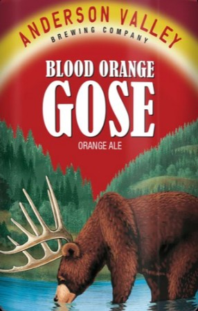 Anderson Valley Blood Orange Gose 12oz Can