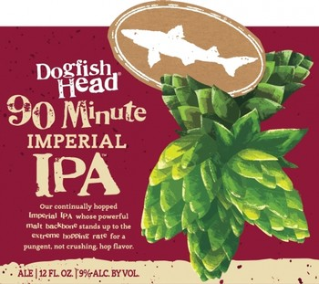 Dogfish Head 90 Minute IPA 12oz Bottle