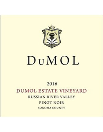 DuMOL Estate Pinot Noir 2016