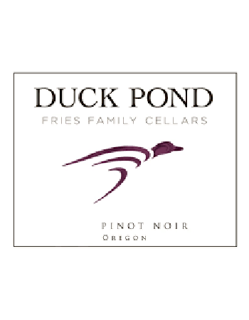 Duck Pond Fries Family Cellars Willamette Valley Reserve Pinot Noir 2016