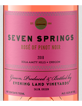 Evening Land Seven Springs Rose 2018