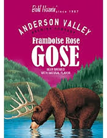 Anderson Valley Framboise Rose Gose