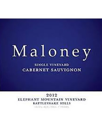 Maloney Elephant Mountain Cabernet 2012