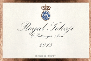 Royal Tokaji Aszu 6 Puttonyos Gold Label 2013