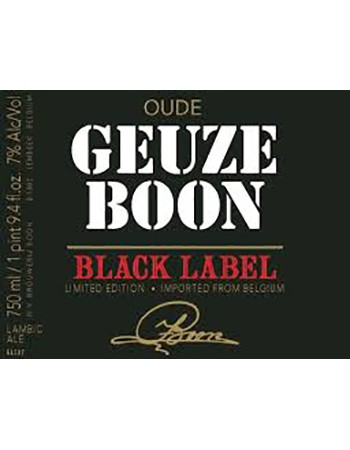 Oude Geuze Boon Black Label Edition Number 3