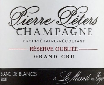Pierre Peters Reserve Oubliee Grand Cru NV
