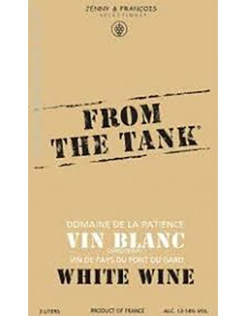 Domaine de la Patience From The Tank Vin Blanc 3L Image
