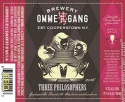 Ommegang Three Philosophers 750ml