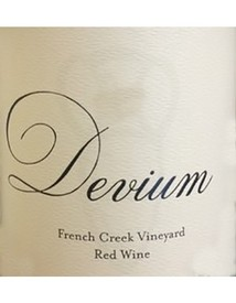 Devium French Creek Vineyard Red 2016 Image