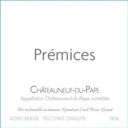 Domaine Giraud Chateauneuf-du-Pape Premices 2015