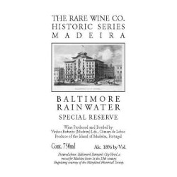 Rare Wine Co. Baltimore Rainwater Madeira