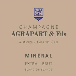Champagne Agrapart & Fils Champagne Mineral Extra Brut Grand Cru Blanc de Blancs 2012