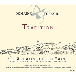 Domaine Giraud Chateauneuf-du-Pape Tradition 2015