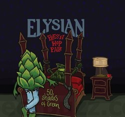 Elysian 50 Shades of Green 12oz Can