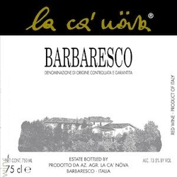 La Ca' Nova Barbaresco 2015