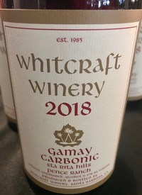 Whitcraft Gamay Carbonic 2018