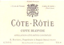 Domaine Rostaing Cote Blonde Cote-Rotie 2017